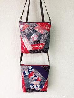 chick chick sewing: Sewing Patchwork Kimono Bags -a quick tutorial on crazy patchwork