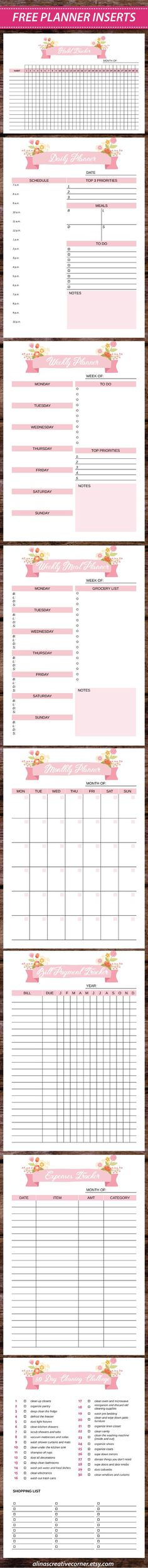 Bill Payment Printable | Monthly Budget Printable | Monthly