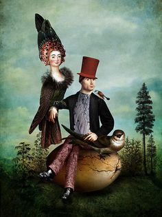 """""""Family portrait"""" Graphic/Illustration by Catrin Welz-Stein posters, art prints, canvas prints, greeting cards or gallery prints. Find more Graphic/Illustration art prints and posters in the ARTFLA. Art And Illustration, Tattoo Pitbull, L'art Du Portrait, Bild Tattoos, Wall Art Prints, Canvas Prints, Image Originale, Pop Surrealism, Wassily Kandinsky"""