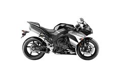 Yamaha YZF-R1 EV-R Complete Graphics - (2009-2012) Black & White Graphics Decal Kit - In Stock Now