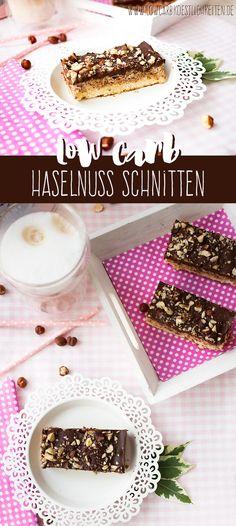 Low Carb Haselnuss Schnitten www.lowcarbkoestlichkeiten.de