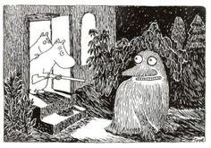 Get out of here, depression Groke! (Tove Jansson)   Read More Funny:    http://wdb.es/?utm_campaign=wdb.esutm_medium=pinterestutm_source=pinterst-descriptionutm_content=utm_term=
