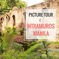 A picture tour of the old city, Intramuros, Manila, Philippines. We visit the Rizal Musuem, Manila Cathedral, military lookouts and the famous Fort Santiago