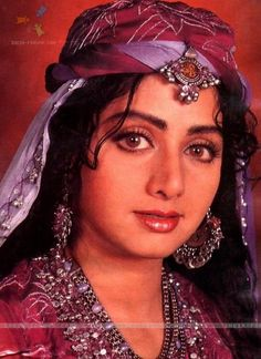 Bollywood Beauty Sridevi