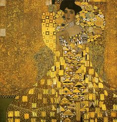 Belle Epoque Women in Gold Gustav Klimt The portrait of Adele Bloch-Bauer