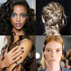 These Fashion Week hair, makeup and nail trends will make you forget about the burgundy lipstick (or hair accessory or nail polish) you just bought for fall