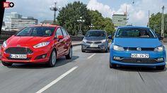 FORD FIESTA, NISSAN NOTE, VW POLO IM TEST Kleinwagen mit Automatik – automatisch gut?