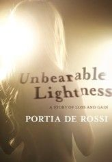 Portia De Rossi: Unbearable Lightness - only started last week and about 50 pages in.  Already very captivating and shows how quickly she developed her eating disorder.