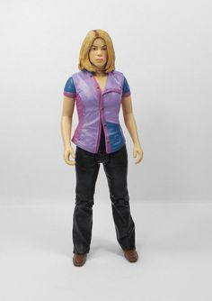"""Doctor Who - Rose Tyler A - Action Toy Figure - Dr Who - 5"""" Tall"""