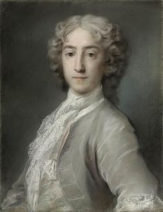Rosalba Carriera (Venice 1675-1757), Portrait of Lord Sidney Beauclerk (1703-1744), half-length, in a grey velvet coat and white stock. Photo: Christie's Images Ltd., 2012 red and black chalk, pastel, bodycolour; 22 1/16 x 17 1/16 in. (56.1 x 43.3 cm.)
