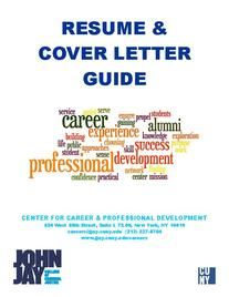 Cover pdf of RESUME & COVER LETTER GUIDE
