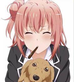 Yahari Ore no Seishun Love Comedy wa Machigatteiru - Oregairu Manga Online Anime School Girl, Anime Girl Cute, Kawaii Anime Girl, Manga Art, Anime Art, Yahari Ore No Seishun, Teen Romance, Waifu Material, Light Novel
