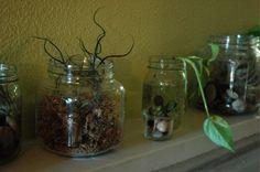 Mason jars!