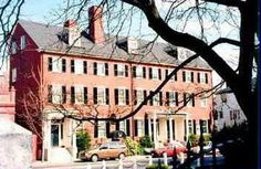 The West House, a federalist building built in 1834 by Captain Nathaniel West..... I wanna stay here when we go