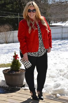 Full Figured & Fashionable: REUSING PIECES DAY 1