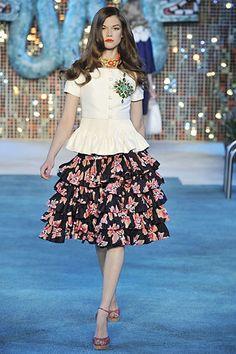 Christian Dior Resort 2009 Fashion Show - Kasia Struss