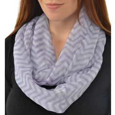 Leisureland Women's Infinity Scarf, Adult Unisex
