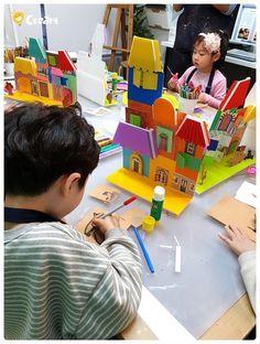 Ideas Diy Art Projects Recycle For Kids For 2019 Kindergarten Art, Preschool Art, Diy Art Projects, Projects For Kids, Line Sculpture, Sculptures, Recycling For Kids, Kids Art Class, Up Book