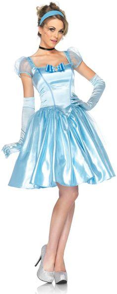 Cinderella Halloween Adult Costume - Women Disney Costumes