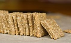 Easy Vegan & Gluten Free Crackers - using brown rice flour and almond flour