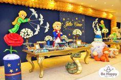Prince Birthday Party, Girl Birthday Themes, Birthday Party Decorations, Little Prince Party, The Little Prince, Nautical Party, Holidays And Events, Baby Shower, Bernardo
