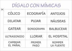 Juegos para baby shower CON MIMICA + DIBUJO