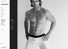 Underwear Man Magento Themes by Hermes