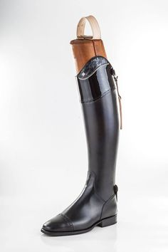 """Every girl may need a little black dress, but every equestrian needs a black dress boot! Style My Ride's exclusive Vincero boots with interchangeable tops come in any color and style from traditional black, to exotic leathers and colors, crystals and more. We also carry traditional DeNiro stock and custom boots as well. E-mail us at stylemyride12@gmail.com for information. You can also view some of our catalogs in our """"Vincero & DeNiro boot"""" section at www.stylemyride.net"""