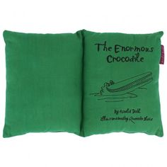 Enormous Crocodile Cushion Book The Enormous Crocodile, Quentin Blake Illustrations, Funky Cushions, Famous Books, Roald Dahl, Cool Rooms, Cover Pages, Group, Nice Things