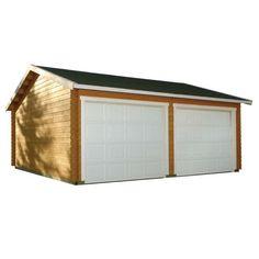 Luoman Garage 15 Koski 32,5 m² Bauhaus, Garage, Home Decor, Carport Garage, Decoration Home, Room Decor, Garages, Home Interior Design, Car Garage