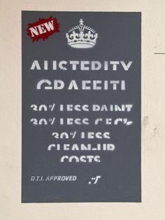 Austerity Graffiti, Norwich