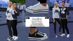 SIB — Semller Low top Converse (S3toS4) M&F Teen-Elder...