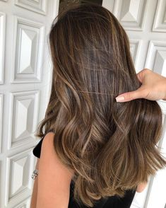 Brown Hair Balayage, Brown Blonde Hair, Hair Color Balayage, Brunette Hair, Hair Highlights, Bayalage, Black Hair, Cabelo Ombre Hair, Brown Hair Colors