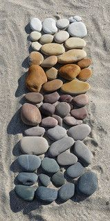 I didn't know which one I loved best, or which one looks better than the others, so I'm loading the 3 of them (dry stones) Dry Stone, Beach Art, Cozy, Memories, Craft, Souvenirs, Beach Artwork, Remember This