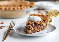 Bacon gives this take on pecan pie a salty, smoky flavor.  Get the recipe from Delish.   - Delish.com
