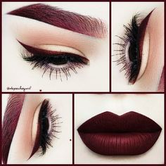 dark lipstick tutorial - Google Search