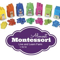 For visual and kinesthetic (tactile) learners... here is a fun way to work on grammar! Almost Montessori Sentence Building - Live and Learn Farm