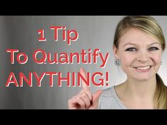 How To Quantify ANYTHING On Your Resume | CareerHMO  Ask how many, how much, how long, how often?