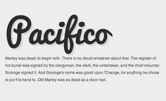 script web font
