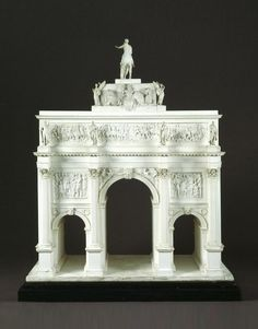 23 Marble Arch, Architectural model, about 1826 designed by John Nash (V&A Museum). Decoration, Art Decor, John Nash, V & A Museum, Architecture Drawings, Grand Tour, Model Ships, Tours, Architectural Models