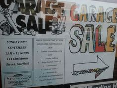 [Garage sale] Fairfield tomorrow from 0900
