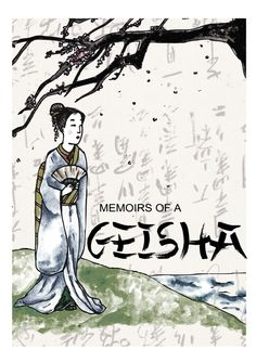 #memoirsofageisha #illustration #bookcover #books #read #draw #art