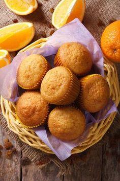 Sinaasappel muffins uit de airfryer