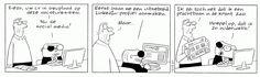 Solliciteren via social media #humor Sigmund - Peter de Wit - de Volkskrant
