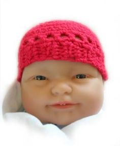 Image of Preemie Beanie. 28 weeks