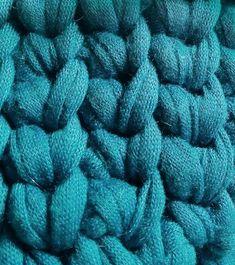 かぎ針編みTシャツヤーンのハンギングバスケットの編み方|Crochet and Me かぎ針編みの編み図と編み方