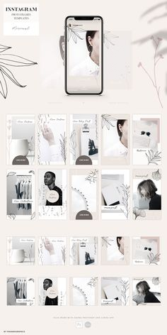 This gorgeous social media templates are perfect for your branding. They look stunning, professional and attract new clients! Instagram Story, Instagram Posts, Instagram Design, Instagram Feed, Social Media Branding, Frame Template, Free Graphics, Social Media Template, Gold Texture