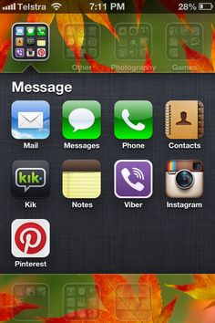 My messaging apps
