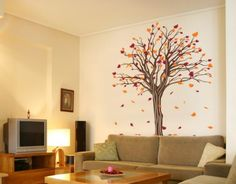 Maple Tree - Wall Decals / Wall Tattoo - FLORAL