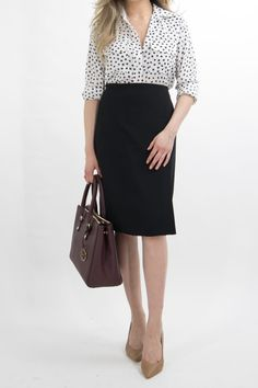 1 MONTH OF BUSINESS CASUAL OUTFIT IDEAS Pt. 2 - Miss Louie